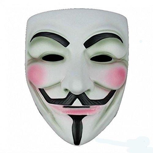 t Kostüm Halloween Maske (2 Stück) (HM24) ()