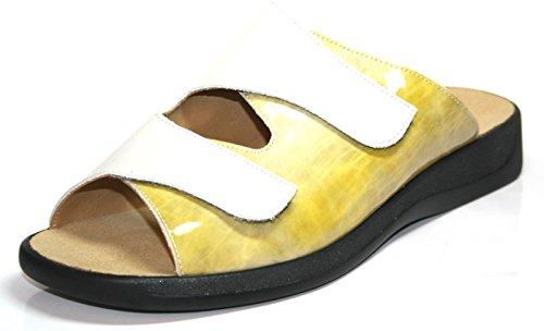 Ganter - Scarpe con plateau Donna Creme -porzella