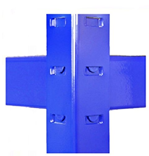 3 Bay Heavy Duty Steel Shelving Garage Racking Unit 275kg per shelf (5 Levels 1800mm H x 900mm W x 450mm D) Supplied with FREE RUBBER MALLET + FREE NEXT DAY DELIVERY*
