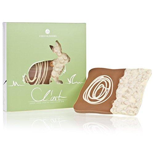 Schokoladentafel L´Art - Osterhase - Schokoladentafel zu Ostern | Osterschokolade | Ostergeschenk | Ostern Süßigkeiten | Alkoholfrei | ohne Alkohol | Ostergeschenke für Kinder und Erwachsene