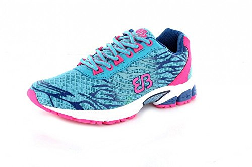 Bruetting Billow, Scarpe Sportive Indoor Donna Turchese (Tuerkis/blau/pink)