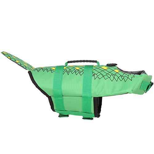 SSeir Moda Chaleco Salvavidas para Mascotas,Flotación para Mascotas Chaleco Salvavidas Chaleco De...