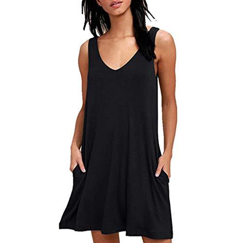 UFACE Damen Kleider Knielang Kleid Kurz Kleid Grün Glitzer Kleidung Kleid Elegant Kleid Schwarz Kleidung Unter 5 Euro Kleid Elegant Lang Kleid Schwarz Langarm
