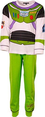 laylawson Jungen Toy Story 100% Baumwolle Lange Ärmel Pyjamas PJ Nachtwäsche[3-4 Jahre][Wei?] (Toy Story-pyjama Für Jungen)
