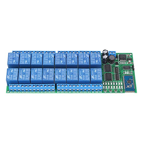 DC 12V 16 Channel Bluetooth Relay Board Drahtloser Fernsteuerungsschalter für Android-Handy mit Bluetooth-Funktionen