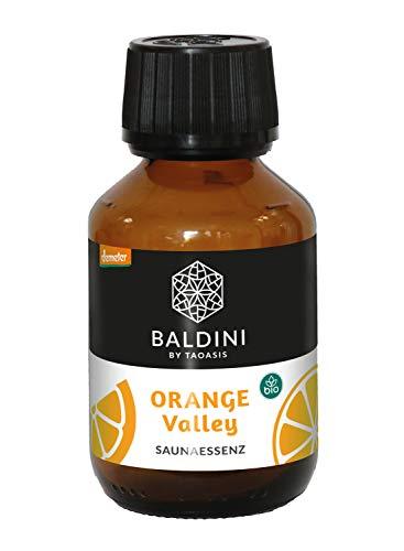 Baldini Orange Valley Bio Saunaessenz aus 100{c27a251e0add4328823f6b8eacf2fcacf470e7a637ae7d4dd934aabe0aabf16f} naturreinen Rohstoffen, 100 ml