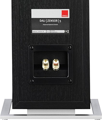 Pair-of-Dali-Zensor-5-Black-Ash-Speakers