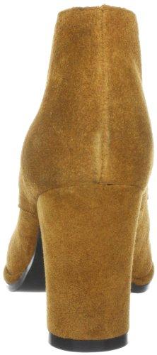 Buffalo London 411-8699 Cow Suede 134405, Scarpe chiuse col tacco donna Marrone (Braun (TAN 01))