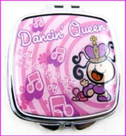 Dancing Queen-Trousse à maquillage Compact Miroir