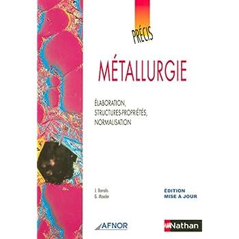 Précis de métallurgie