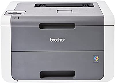 Brother HL-3140CW - Impresora láser color (WiFi, LED), color gris