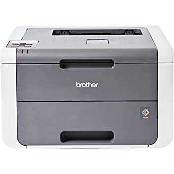 Brother HL-3140CW - Impresora láser color (WiFi, LED), color gris ...