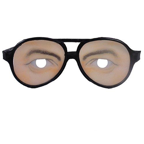 Zantec Männer Frauen Lustige Gläser Unfug Augen Frames Weihnachten Halloween Party Prank Werkzeug Großes - Zu Die Wie Machen, Lachen Frauen
