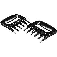 1 Paar Meat Claws Fleischgabeln im Bärenkrallenlook - solide Version für leichtere Reinigung