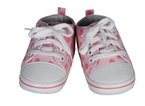 Chaussures coffre trésor ? Baskets coeurs roses