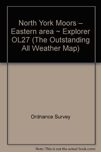 North York Moors – Eastern area ~ Explorer OL27 (The Outstanding All Weather Map)
