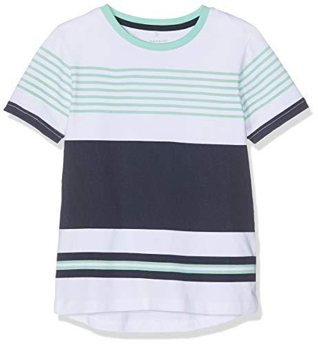NAME IT Jungen NKMFREDDY SS TOP BOX T-Shirt, Blau (Dark Sapphire), 158 (Herstellergröße: 158-164) -