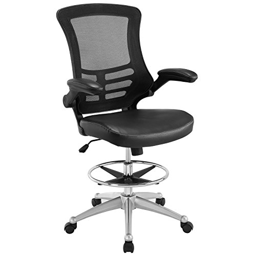 lexmod-attainment-drafting-stool-vinyl-black