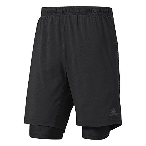 adidas Herren Supernova Dual Shorts, Black, L 7