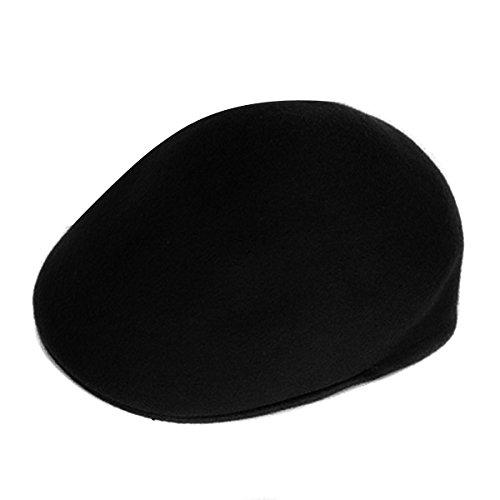 butterme-fashion-unisex-women-men-lady-french-artist-winter-warm-wool-felt-beret-beanie-hat-black