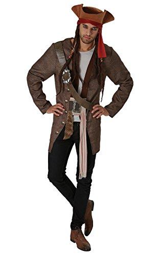 Kostüm Erwachsene Sparrow Für Jack - Rubie 's Offizielles Disney Piraten der Karibik Jack Sparrow Erwachsene Kostüm