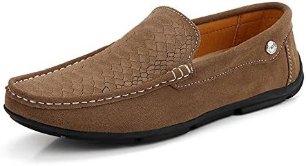 Zapatos Casual Mocasines Zapatos Color Sólido Hombres