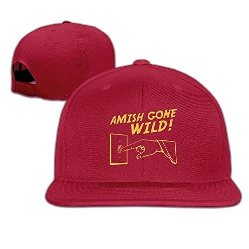 Kaixin J Funny Baseball Caps Hats Cap Amish Gone Wild Halloween