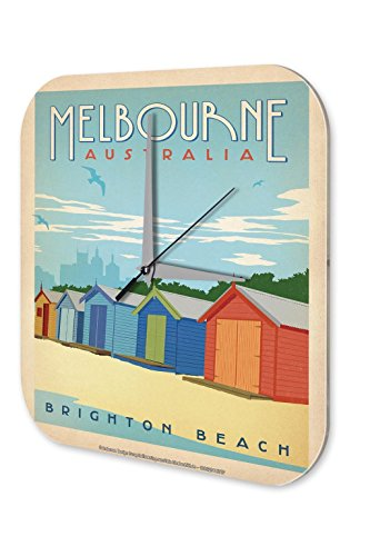 wall-clock-deco-city-melbourne-australia-brighton-beach-beach-huts-printed-acryl-plexiglass