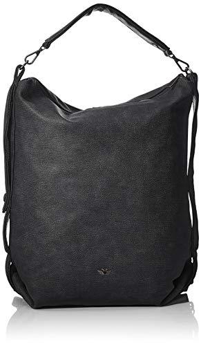 Fritzi aus Preussen Damen Ava Rucksackhandtasche, Schwarz (Black), 12x37x41 cm