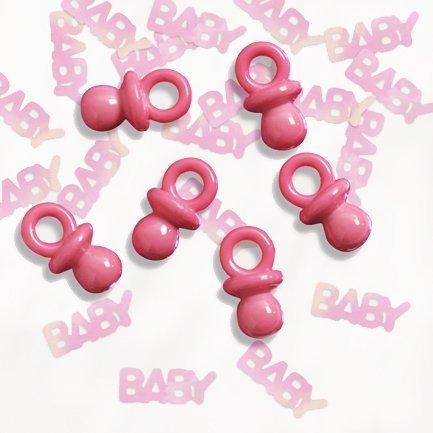 Baby Party Confetti Plus - Rose Tétine Pour Bébé
