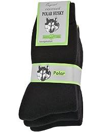 6 Paar Nie wieder Kalte Füße! Polar Husky® Winter Socken, super dick und sehr warm!