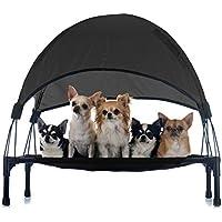 Hamaca mascotas Cama Perros Gatos Relax Jardín Outdoor Protección solar Sombrilla Animales ...