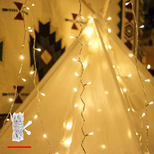 Kein Transformator, myCozyLite LED Lichterkette Verlängerung Nur, 10m, 100er, Warmweiß