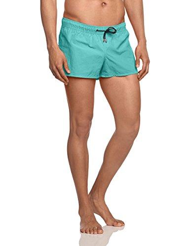 HOM Herren Badeshorts Marine Beach Shorts Türkis (BLUE ATOLL 6599)