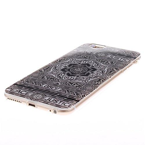 Pour iphone 6 Coque / iphone 6S Housse - 4.7 inch, MYTHOLLOGY - Dreamcatcher Doux Flexible, Premium Silicone TPU Arrière Etui Case Rétro Fleur
