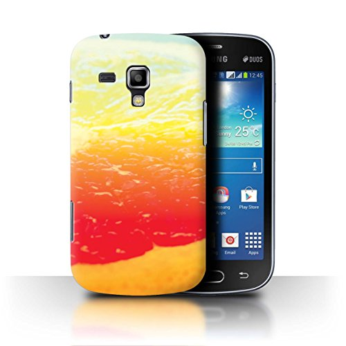Grapefruit Duo (Stuff4® Hülle/Case für Samsung Galaxy Duos/i8262D / Grapefruit/Obst Muster/Lebendige Ombre Kollektion)