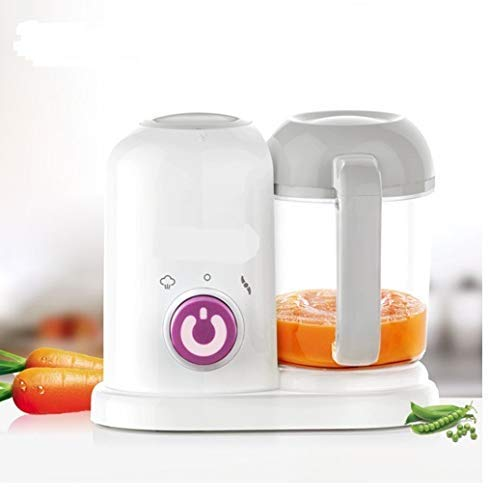 PICKVILL Portable Baby Pure Food Processor Steamer Blender,All in One Unit,True Time-Saving,Mini Baby Food Maker Kit Machine Manual