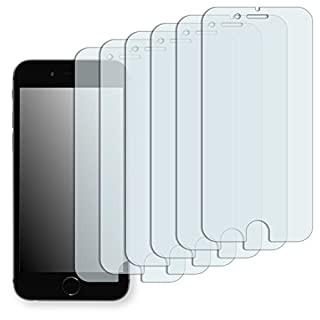 "6 x Golebo Displayschutzfolie für Apple iPhone 6 / Apple iPhone 6s Displayschutz Schutzfolie Folie ""Crystal Clear"" - Unsichtbar MADE IN GERMANY (bewusst kleiner als das Display, da dieses gewölbt ist) (B00MIJL0ZK) 