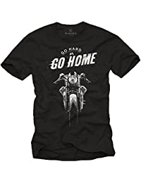 Cafe Racer Moto - T-Shirt Homme Manches Courtes