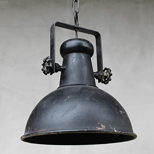 Chic Antique Vintage Deckenlampe Factory Industrielampe antik schwarz Hängeleuchte Retro Industrie-Design Shabby E27