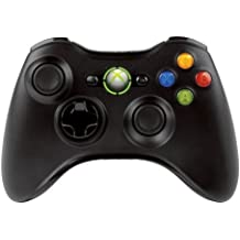 Official Xbox 360 Wireless Controller - Black (Xbox 360) (Refurbished)