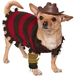 traje del perro Freddy Krueger M
