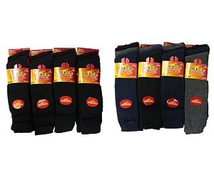 6pairs Mens Long Chunky Thermal Socks Walking Hiking Winter Warm Work Socks UK Shoe Size 6-11
