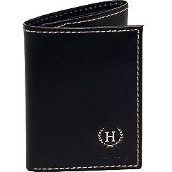 Tommy Hilfiger Mens Hove Trifold Wallet (Black)