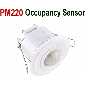 Le electronics pm220 recessed occupancy sensor ceiling 360 angle le electronics pm220 recessed occupancy sensor ceiling 360 angle 5m in radius pir motion detector security aloadofball Choice Image