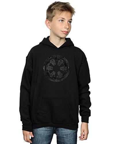 Star Wars Jungen Rogue One Galactice Empire Plans Kapuzenpullover 12-13 years Schwarz
