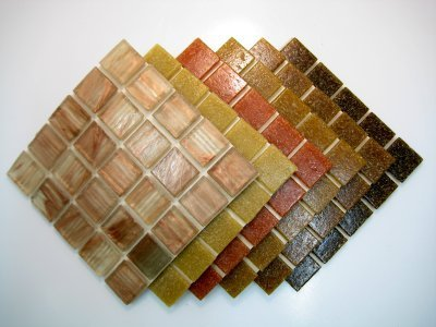 mosaico-piastrella-miscela-caldo-terra-marrone-150-piastrella-mix