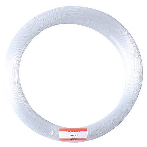 CHINLY 0,75mm 300M / roll PMMA Kunststoff Endglimmfrequenz Glasfaserkabel für Sternenhimmel Decke alle Arten LED-Licht Lokführer - Licht Hardware