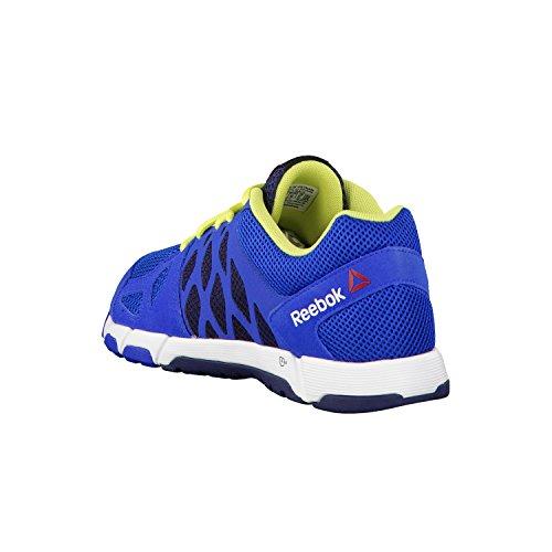 Reebok One Trainer 2.0 scarpa da ginnastica, da uomo Blu (Blue/Green/Navy/White)
