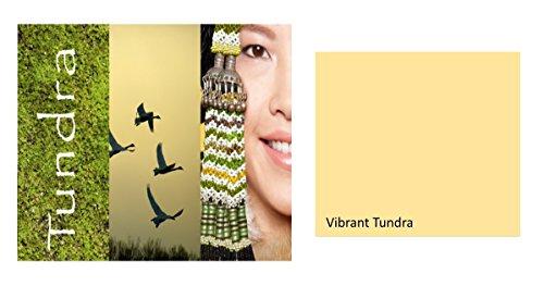 Alpina Colorful World Innenfarbe, 2,5 L. Vibrant Tundra, Gelb, matt
